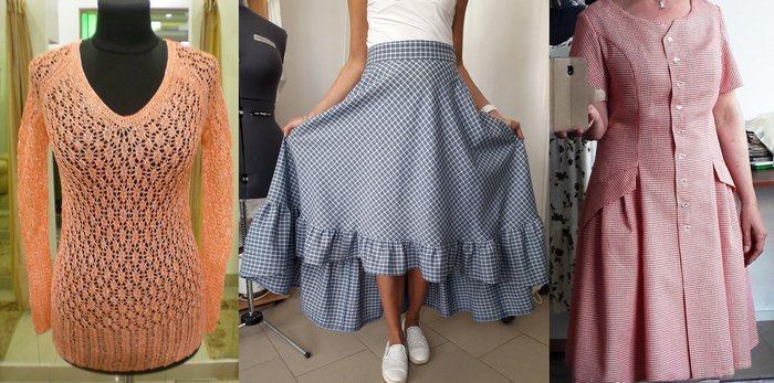 Одежда состав: лен с лавсаном
