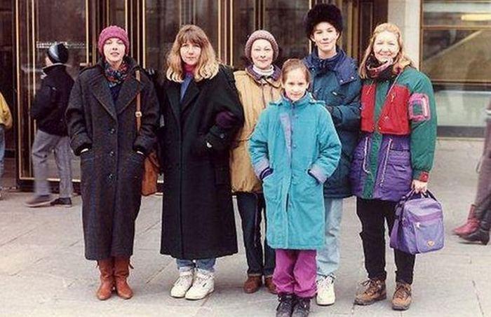 Повседневная одежда в 90-х годах фото