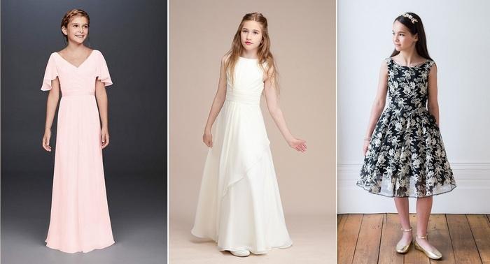 Праздничная одежда для девочки-подростка