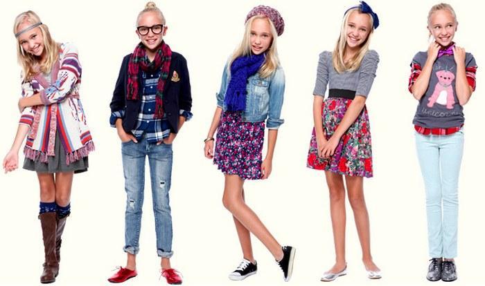 Разнообразие подростковой одежды для девочек фото
