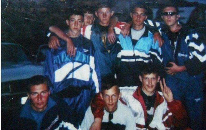 Спортивные костюмы 90-х годов фото