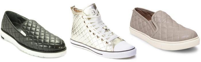Стеганая обувь