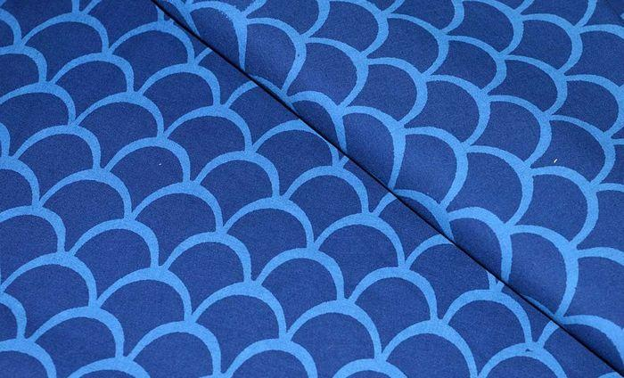 Ткань софткоттон с рисунком
