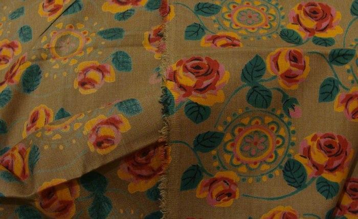 Винтажная ткань лавсан