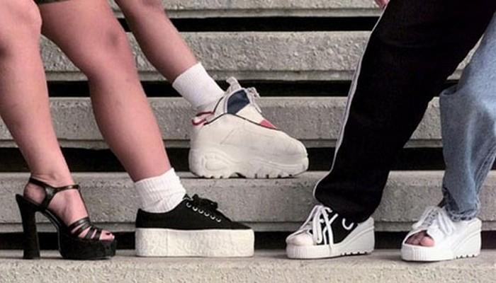 Женская обувь обувь 90-х
