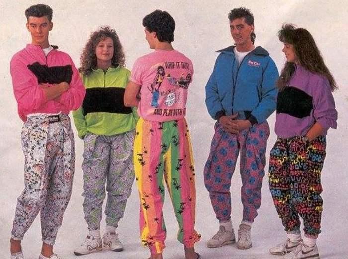 90-е мода фото
