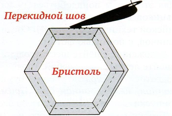 Английская техника шестиугольник 3
