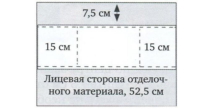 Авоська с пикадилли лекала 3