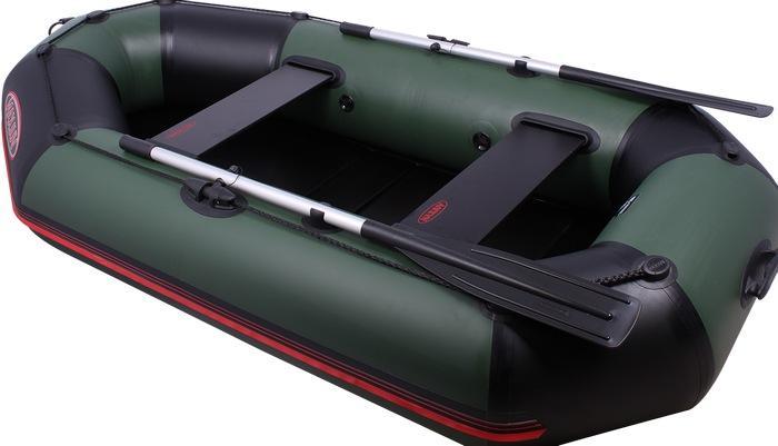 Двухместная надувная лодка из ПВХ
