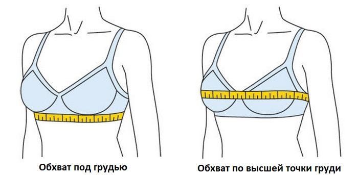 Как измерить обхват груди у женщин фото