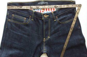 Как подобрать размер джинсов женских фото