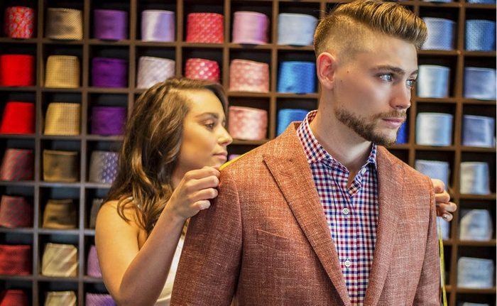 Как узнать мужской размер одежды таблица