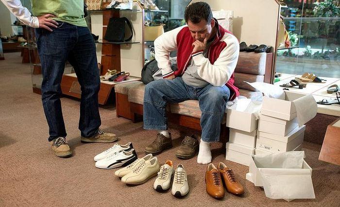 Какой размер обуви мужской подойдет