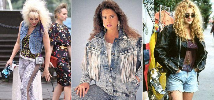 Мода 90 х годов фото джинсы