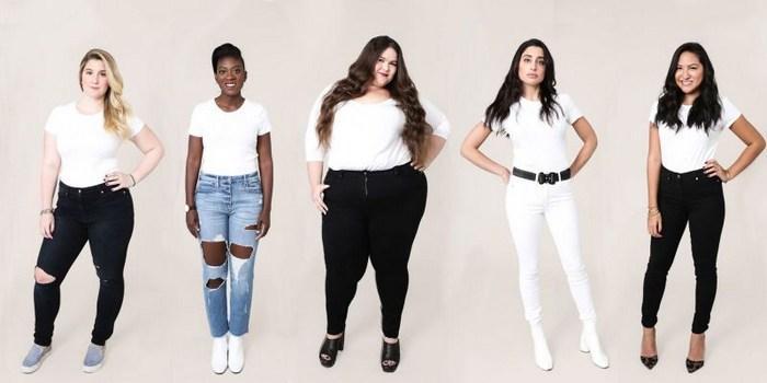 Модели джинсов бывают большие, средние и маленькие