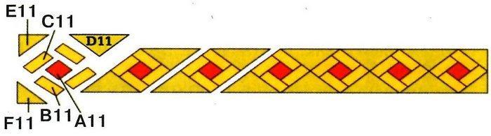 Панно Восток схема 2