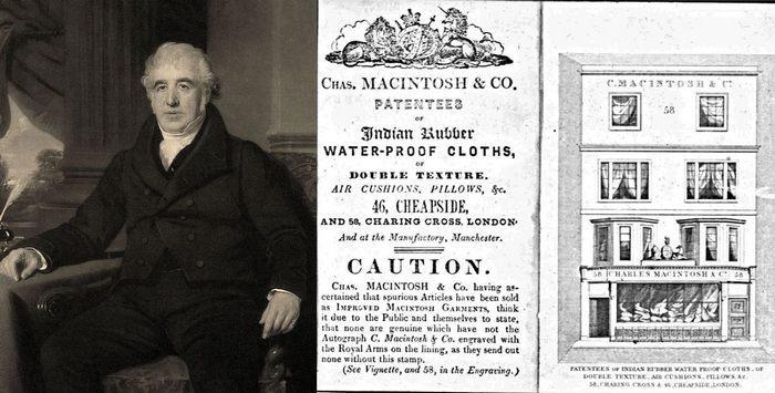 Патент на изобретения Чарльза Макинтоша
