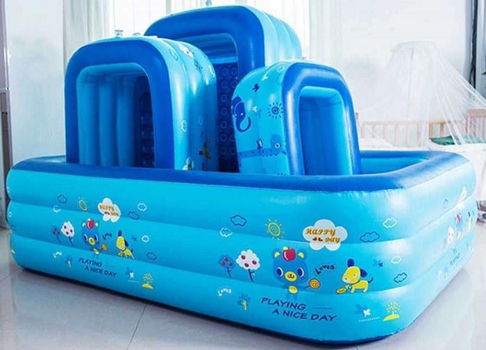 Утолщение ПВХ детский надувной бассейн