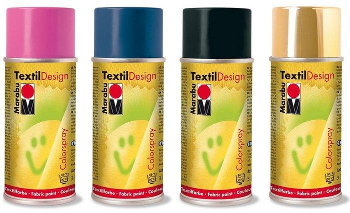 Аэрозольные краски для ткани фото