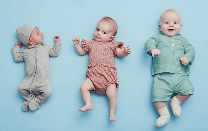 Дети рождаются с разным весом и ростом