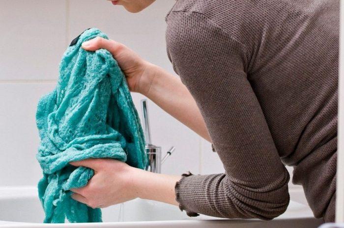 Как стирать акриловый свитер чтобы он сел фото