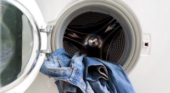 Как стирать джинсы в стиральной машине чтобы сели фото