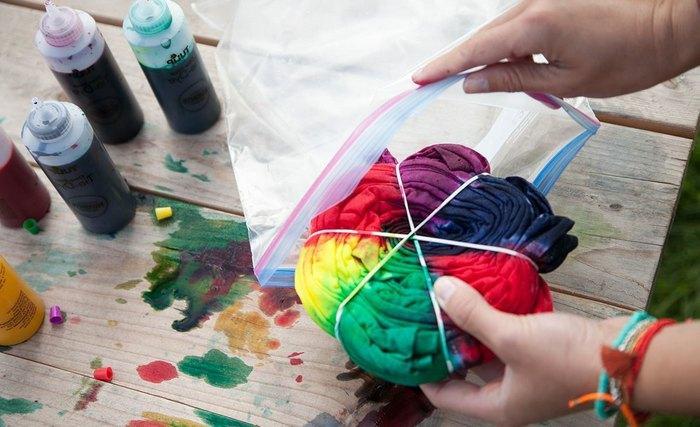 Какой краской покрасить ткань в домашних условиях фото