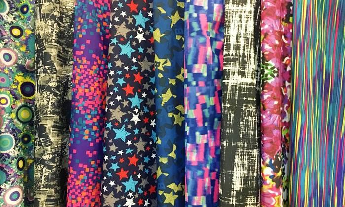 Курточные ткани с принтом фото