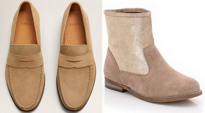 Материал спилок для обуви фото