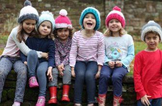 Размер шапки по возрасту детей фото