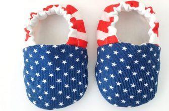 Размеры американской детской обуви фото