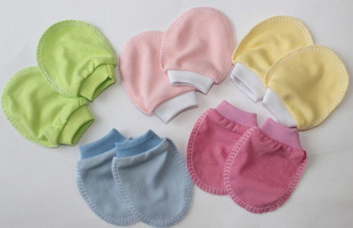 Рукавички для новорожденных фото