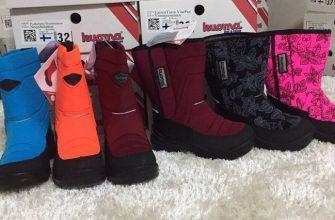 Как правильно выбрать размер на зимнюю обувь куома фото