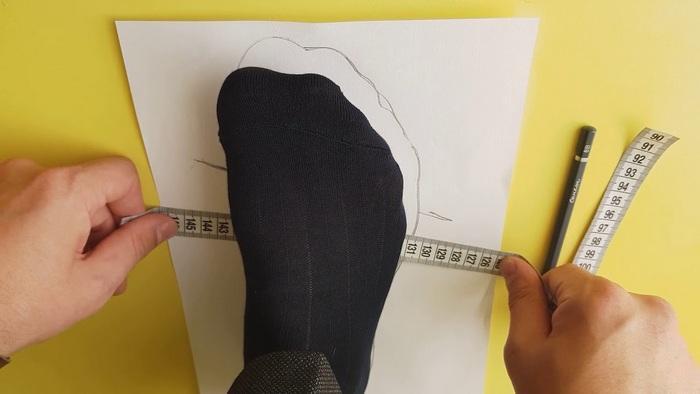 Как снимать мерки стопы для покупки обуви в интернете