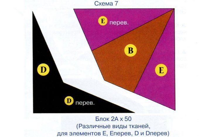 Панно Хранители сокровищ схема 7