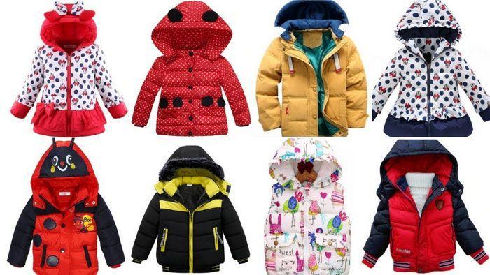 Детские куртки на синтепоне фото
