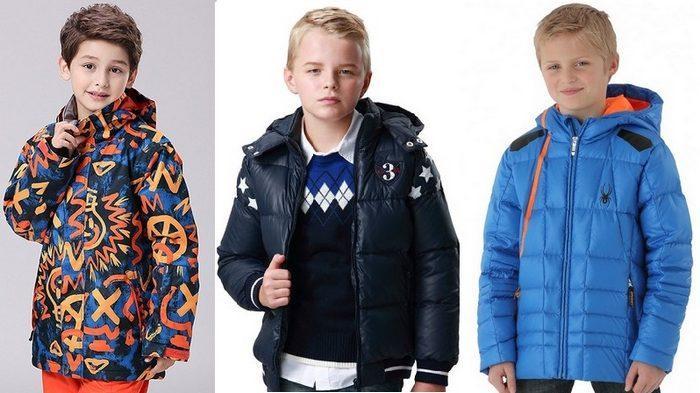 Детские куртки на тинсулейте фото