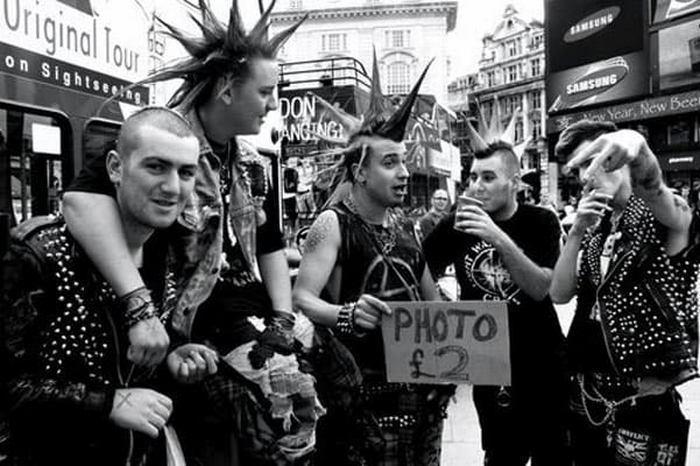 Фанаты Sex Pistols фото