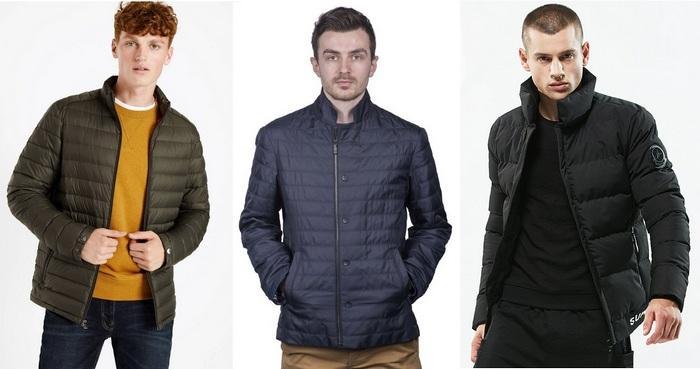 Фото модных мужских курток на синтепоне