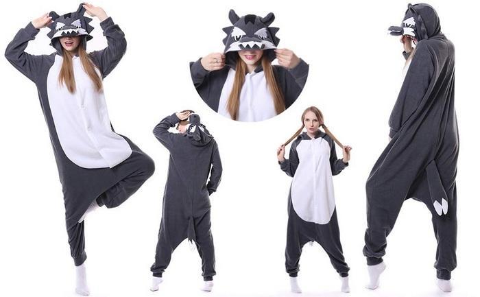 Фото пижамы в виде животных