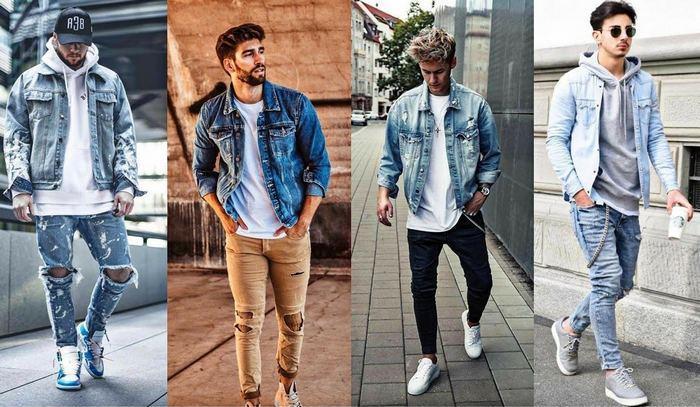 Как должна правильно сидеть джинсовая куртка на мужчине фото