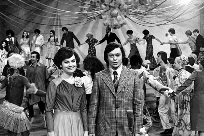 Как встречали новый год в 70-е, фото