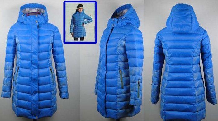 Куртка зимняя женская на холлофайбере, фото