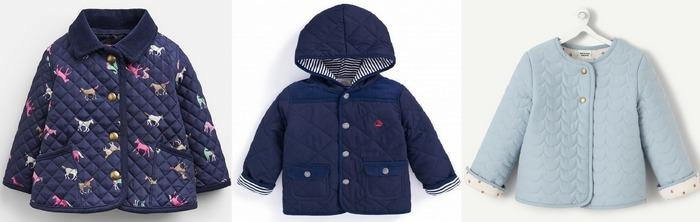 Куртки детские стеганые фото