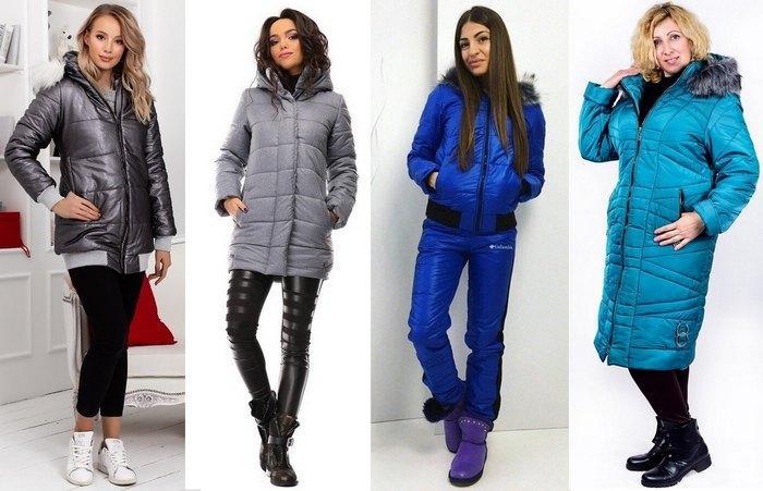 Куртки женские осенние на синтепоне фото