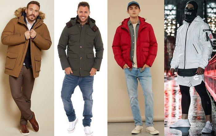 С чем носить мужские куртки на тинсулейте фото