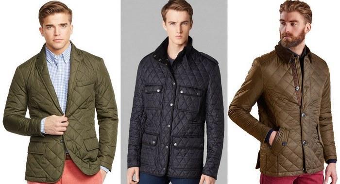 Стеганые демисезонные мужские куртки фото