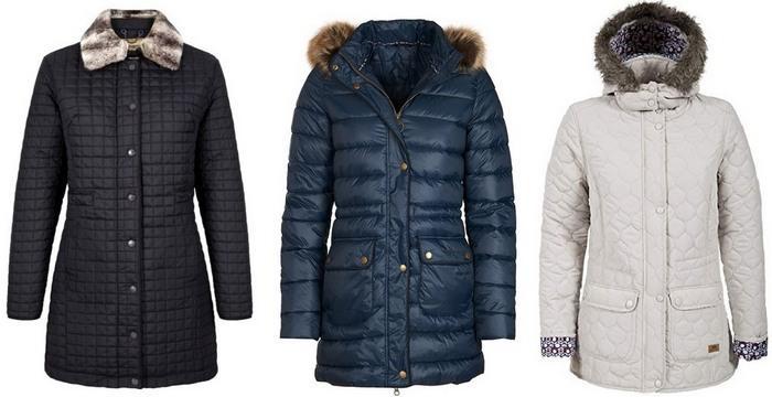 Стеганые куртки женские зимние фото