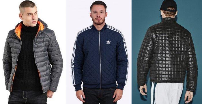 Стеганые спортивные мужские куртки фото