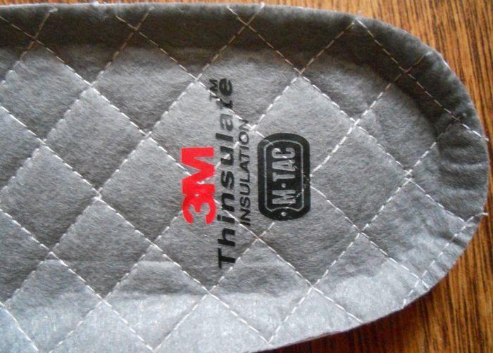 Стелька в обувь с утеплителем фото
